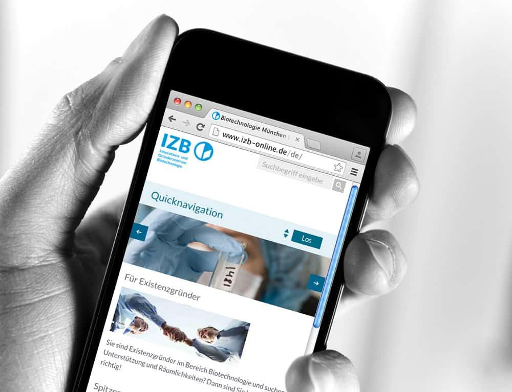 webdesign izb agentur gerstmayer