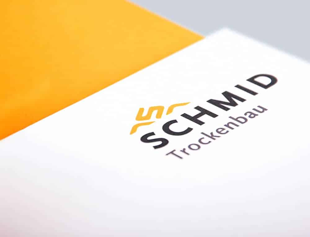 Logoentwicklung Schmid Trockenbau