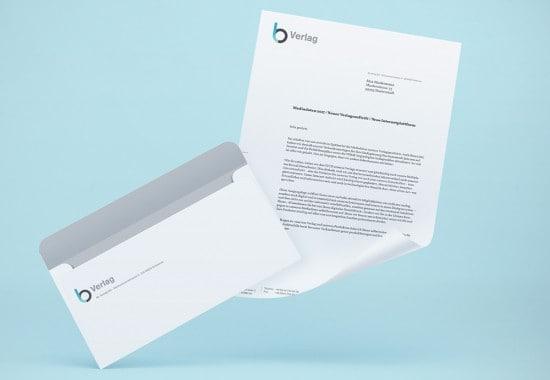 BL-Verlag-kuvert